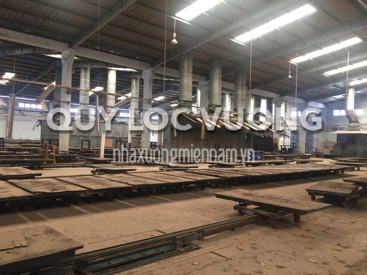 bán nhà xưởng KCN Bàu Bàng