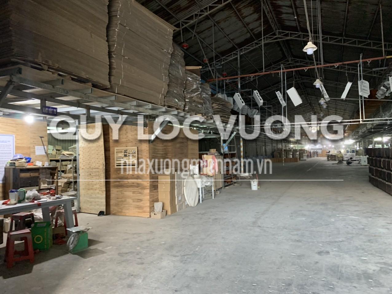 Bán hoặc cho thuê xưởng sản xuất gỗ phường Tân Vĩnh Hiệp Tân Uyên, 2.029m2