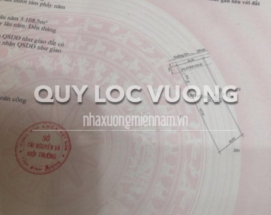 Bán 5.168m2 đất khu vực ấp Tân Minh xã Minh Thạnh huyện Dầu Tiếng