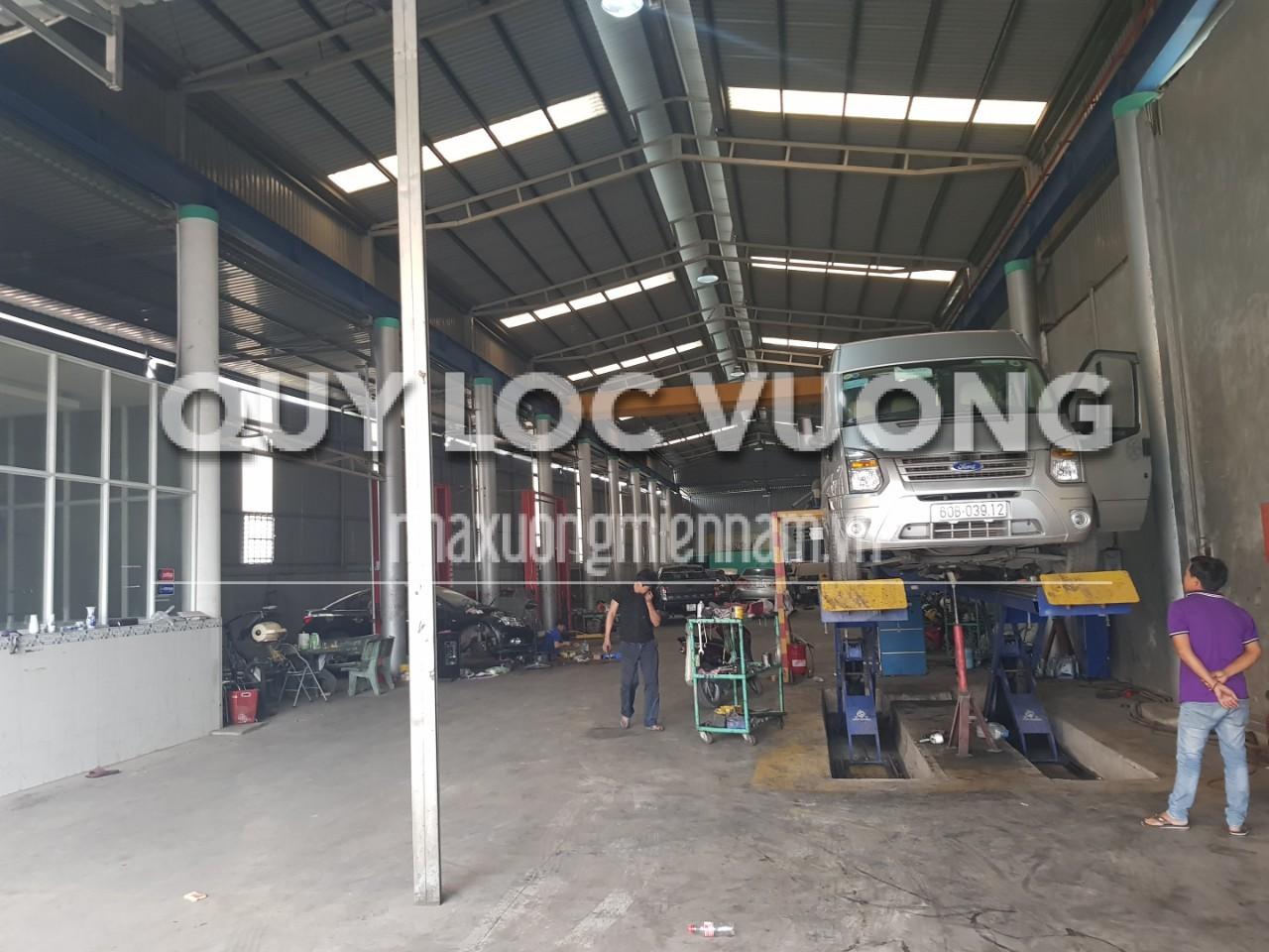 Cho thuê 1.400m2 xưởng ở dốc 47 phường Tam Phước Biên Hòa Đồng Nai