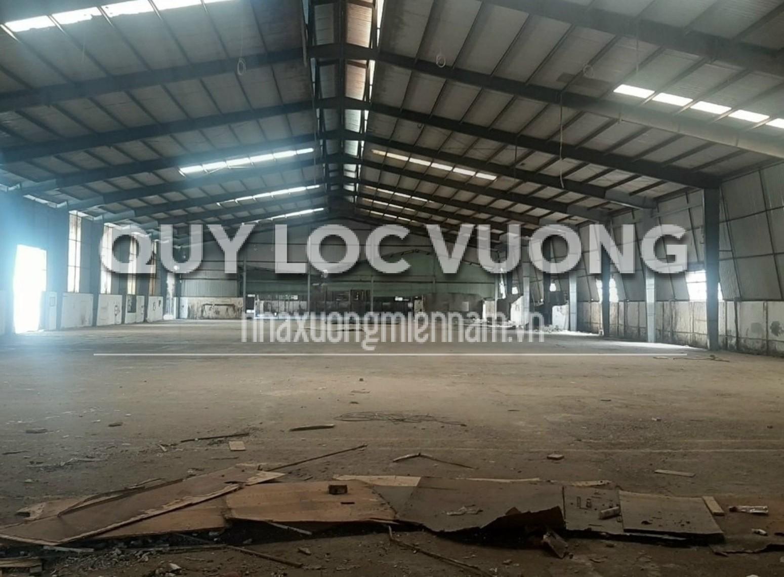 Cho thuê 3 nhà xưởng phường Tân Định thị xã Bến Cát Bình Dương, 8.000m2