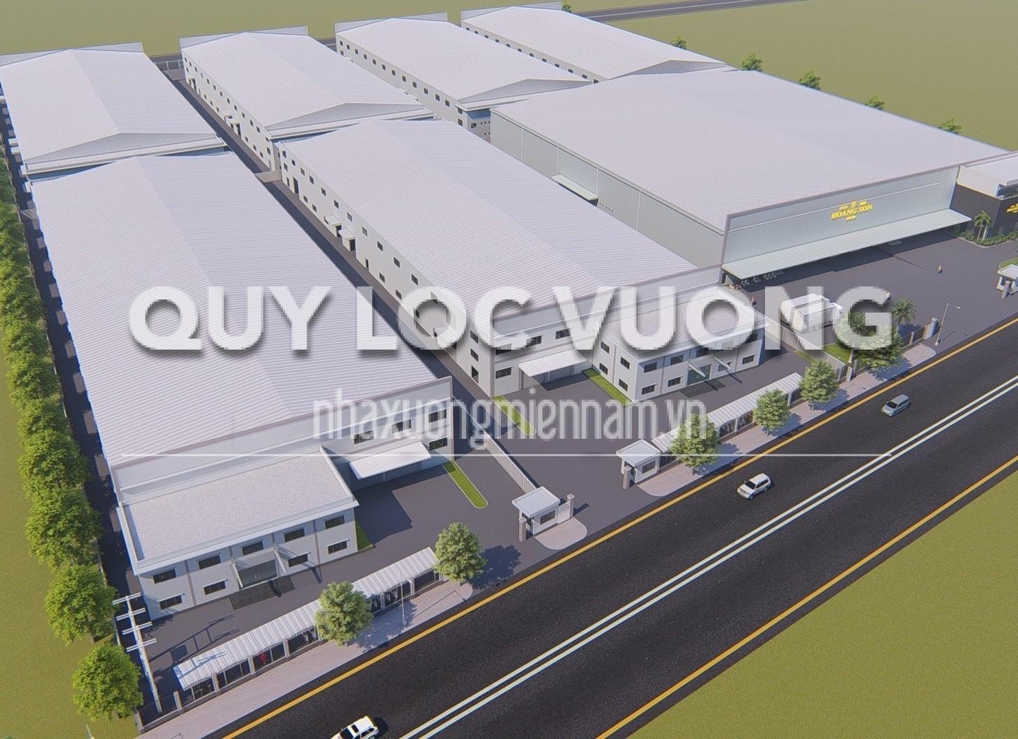 Cho thuê 6 nhà xưởng trong KCN Sóng Thần Bình Dương diện tích 40.000m2