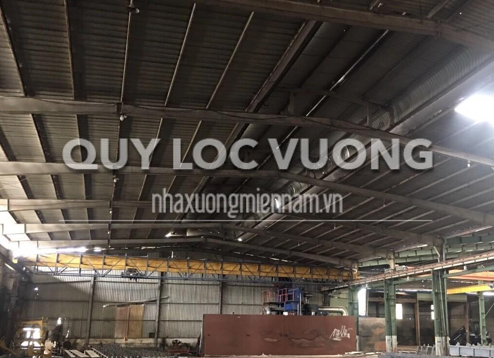 Cho thuê nhà xưởng trong KCN Biên Hòa 1 Đồng Nai diện tích 2.500m2