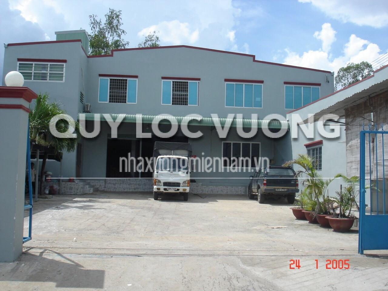 Cho thuê xưởng phường An Bình thành phố Biên Hòa Đồng Nai rộng 1.000m2