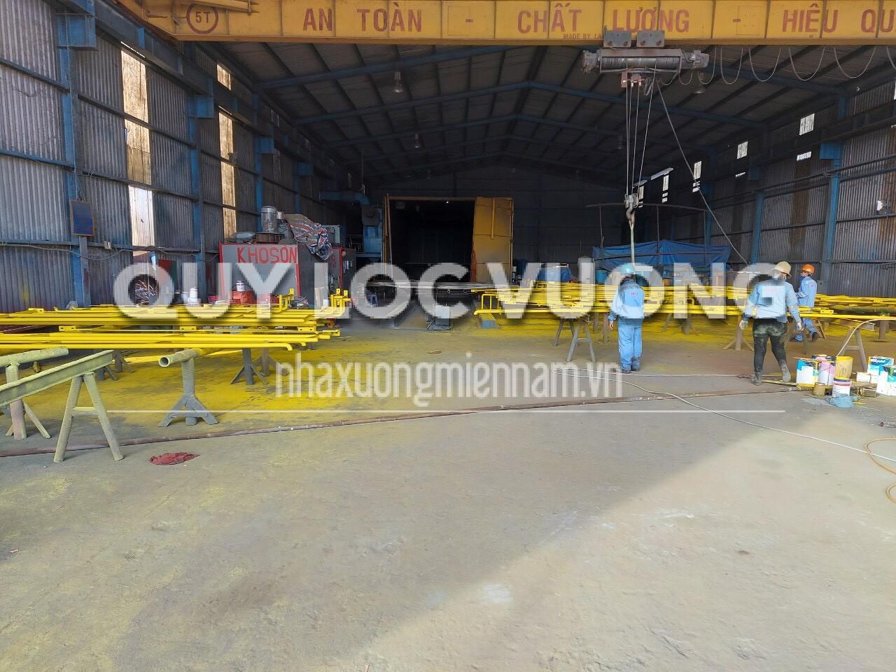 Cho thuê xưởng sản xuất trong KCN Nhơn Trạch Đồng Nai rộng 20.000m2