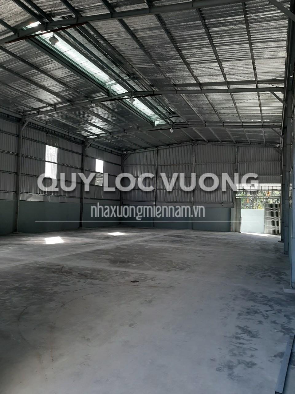 Cho thuê nhà xưởng tại phường Thạnh Xuân quận 12 TPHCM, rộng 320m2