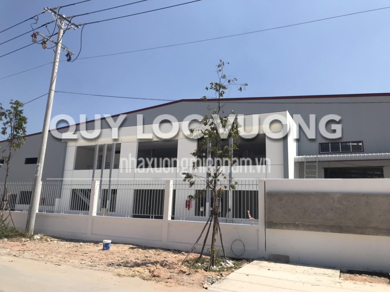 Cho thuê nhà xưởng trong KCN Mỹ Phước Bình Dương giá rẻ rộng 6.300m2