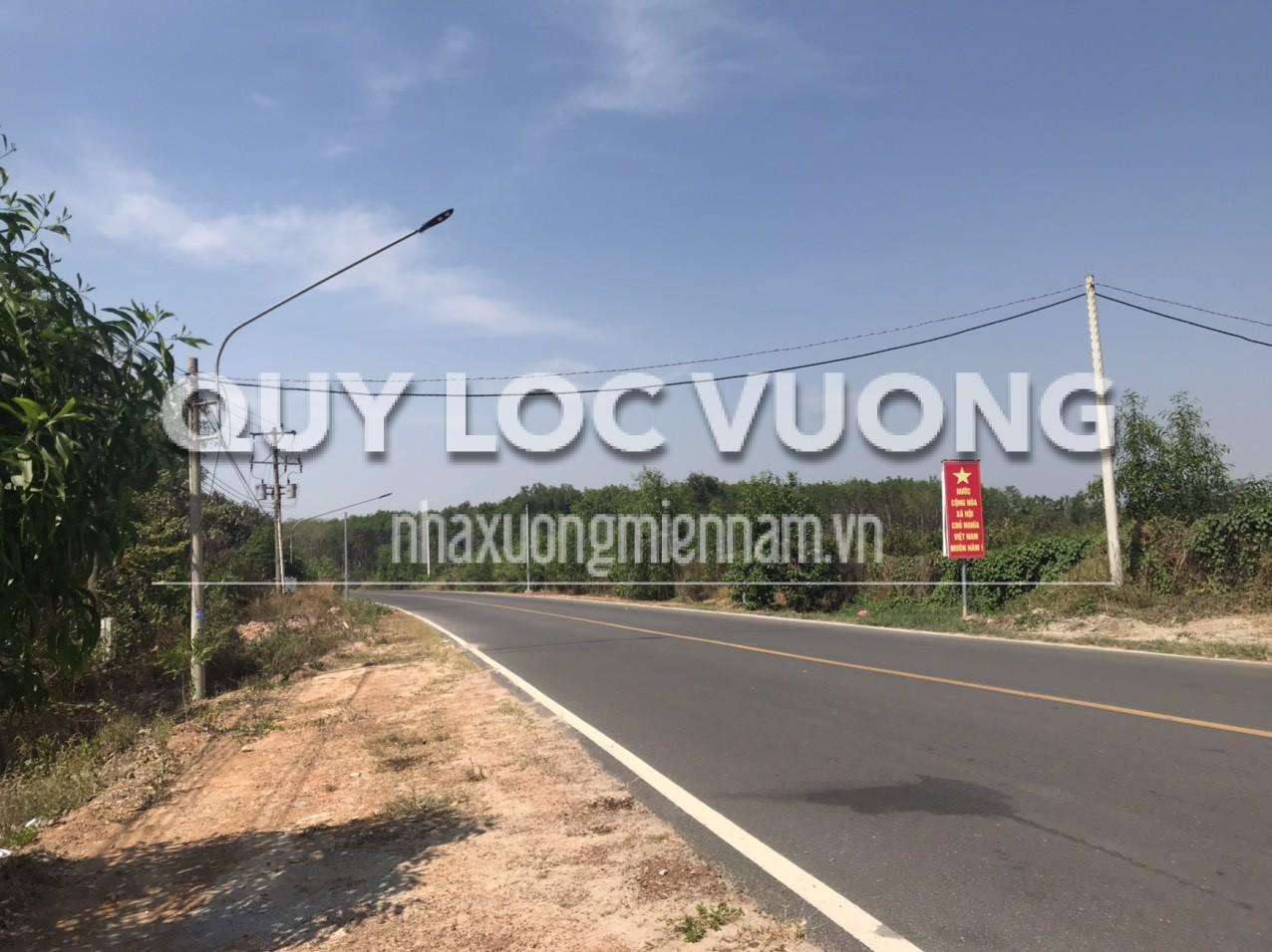 Bán đất mặt tiền đường nhựa rộng 14000m2 ở xã Đất Cuốc Tân Uyên giá rẻ