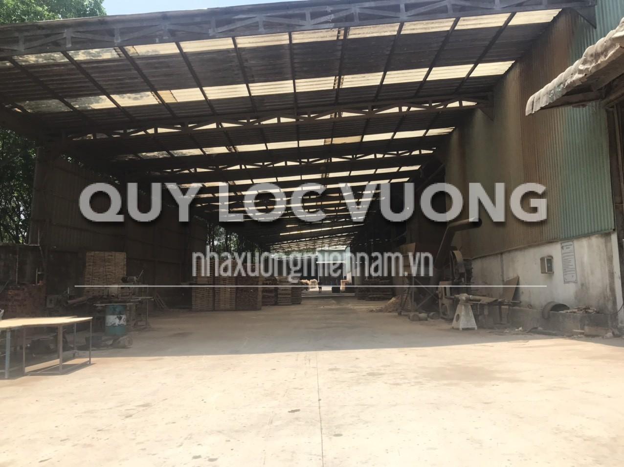 Cho thuê hoặc bán xưởng sản xuất gỗ xã An Lập Dầu Tiếng, 11.408m2