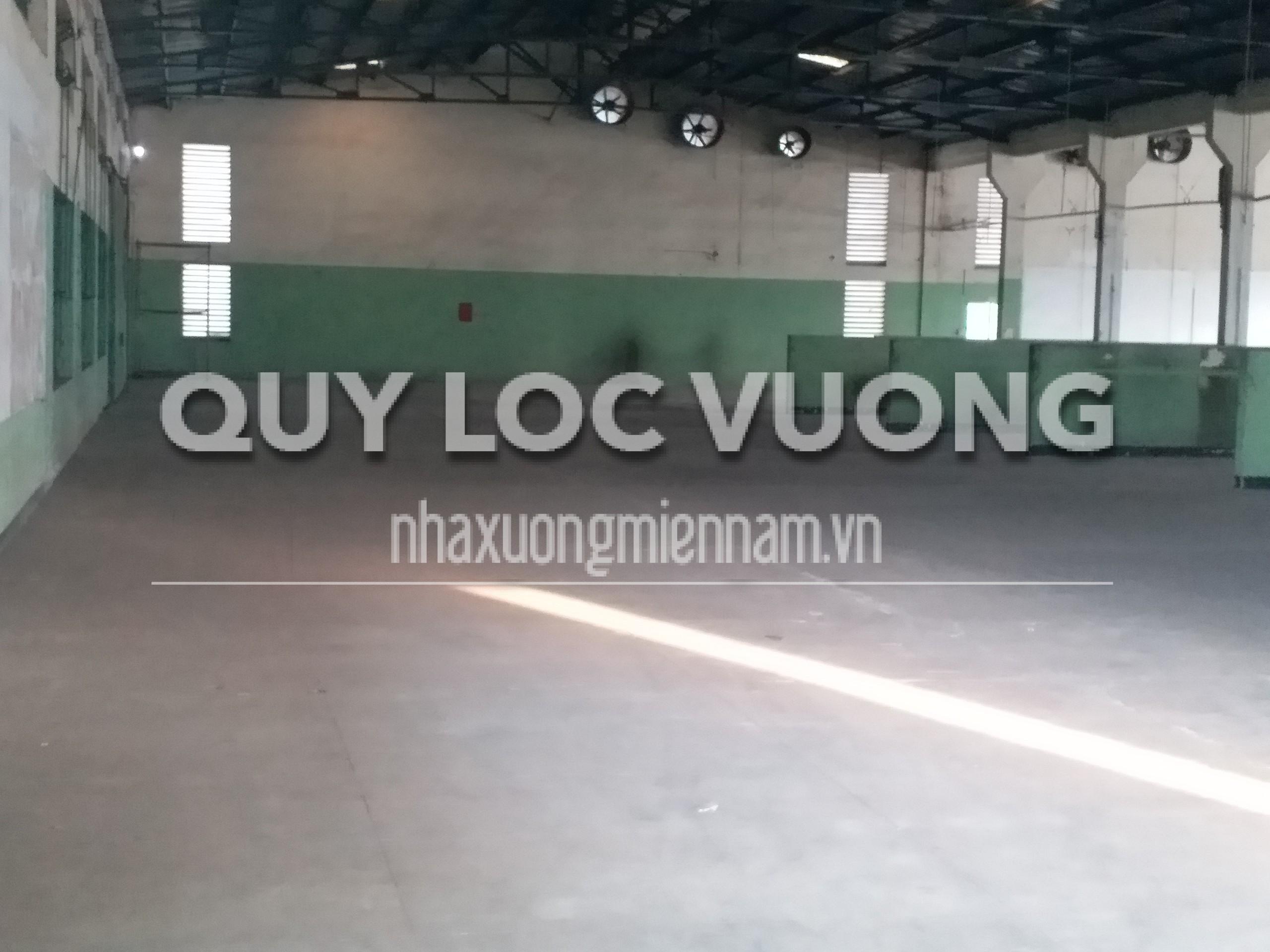 Cho thuê xưởng khu vực Bửu Long Biên Hòa Đồng Nai rộng 2100m2 giá rẻ