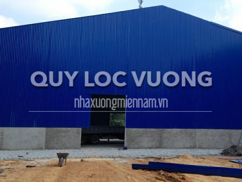 Cho thuê xưởng mới xây dựng phường Tân Định Bến Cát Bình Dương, 2.500m2