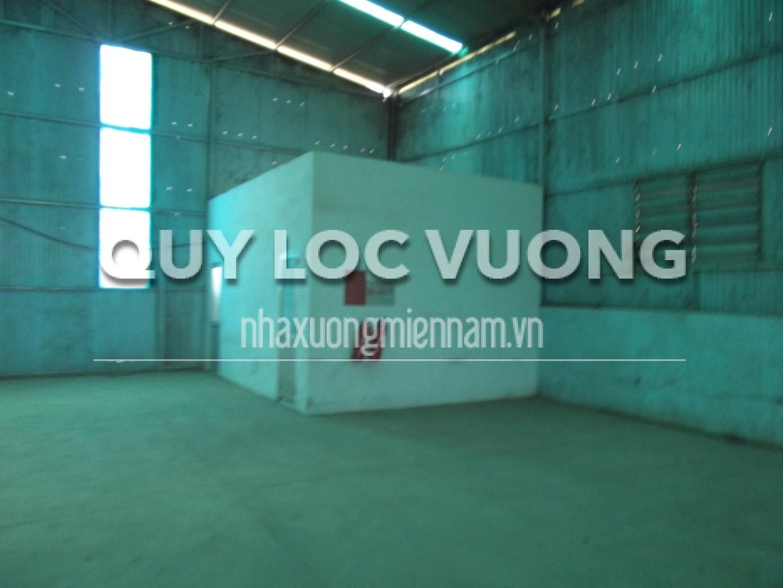 Cho thuê xưởng ở thị trấn Tân Thành huyện Bắc Tân Uyên Bình Dương, 840m2